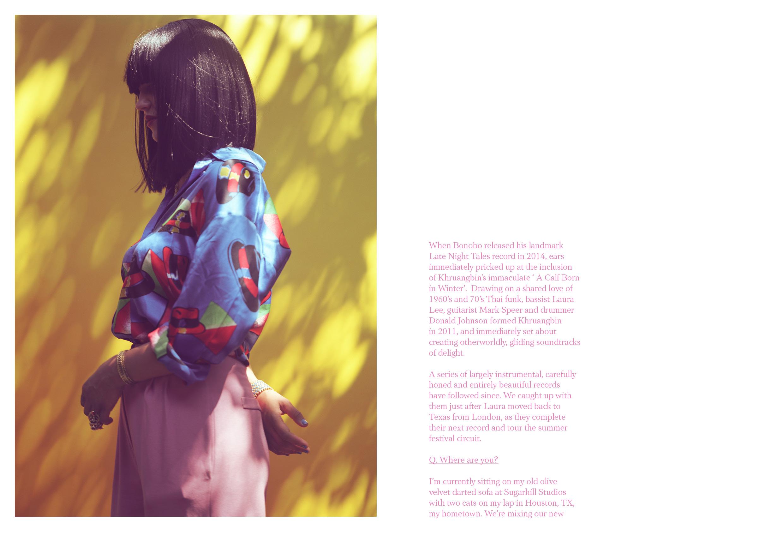 Khruangbin - Make Magazine